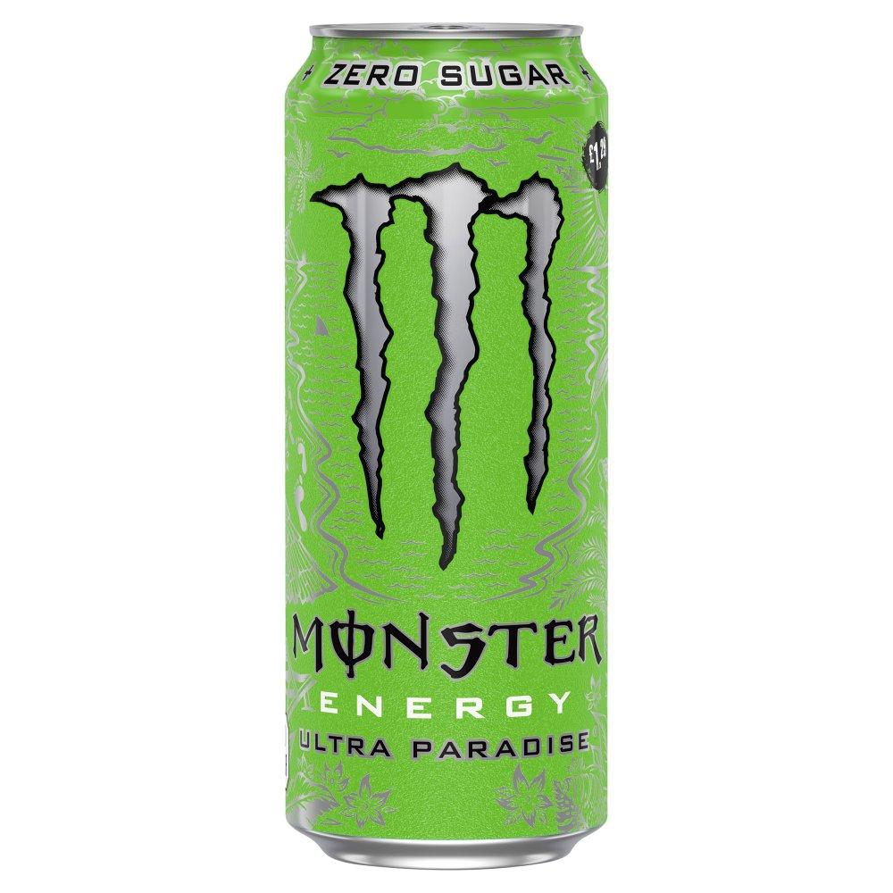 Monster Ultra Paradise Energy Drink 12 x 500ml PM £1.29