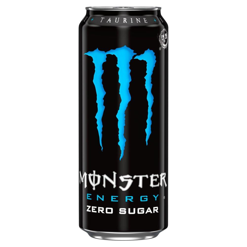 Monster Zero Sugar Energy Drink 500ml PM £1.29
