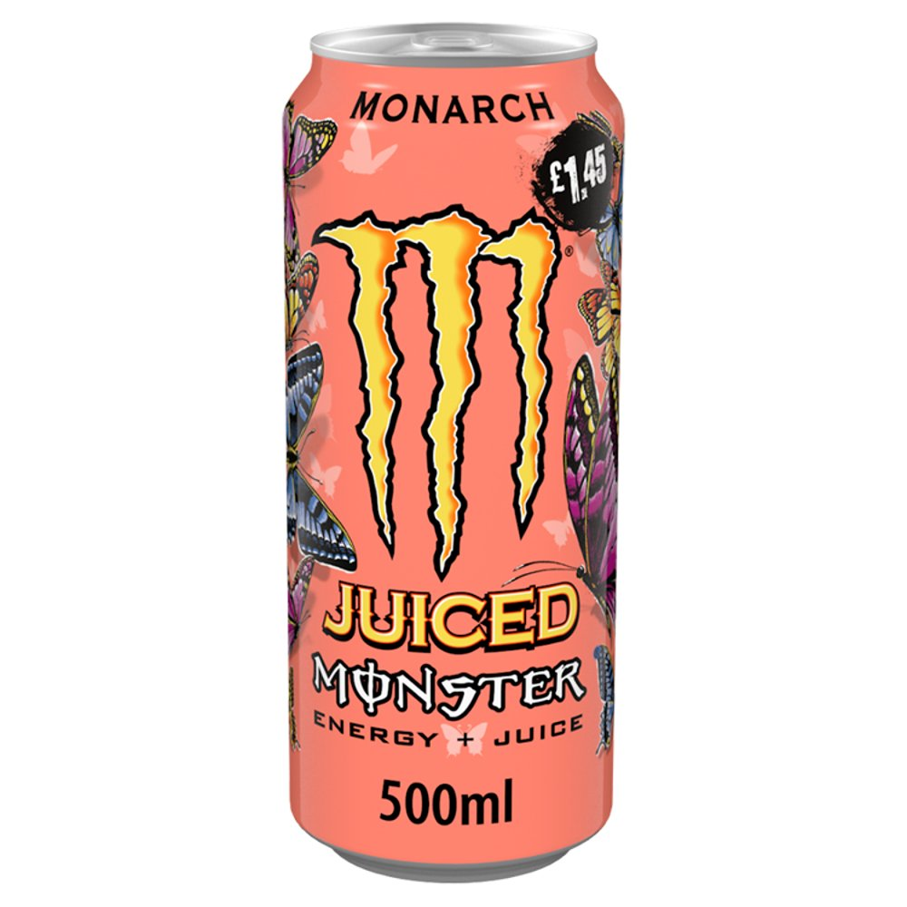 Monster Monarch Energy Drink 12 x 500ml PM £1.45