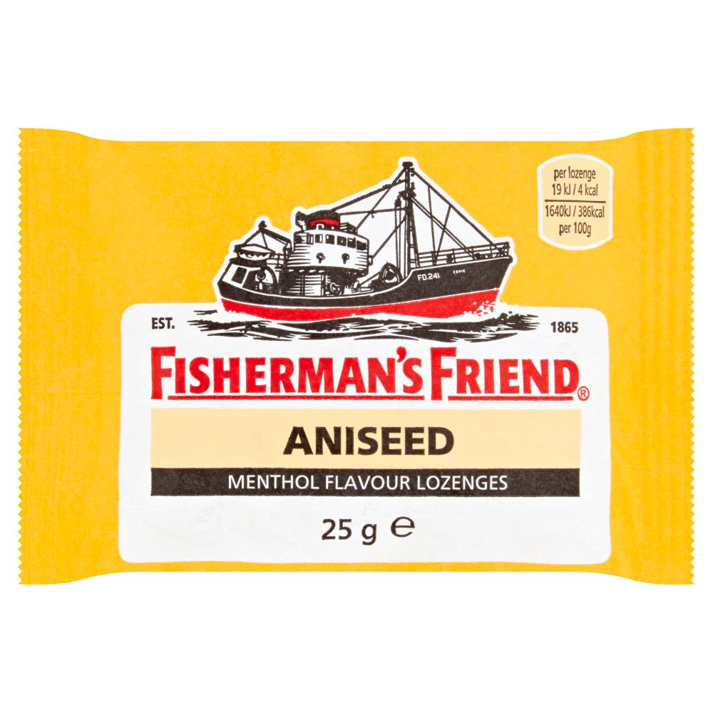 Fishermans Friend Aniseed 24 For 22
