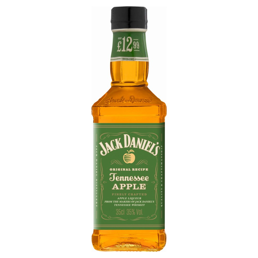 Jack Daniel's Tennesse Whiskey Blended with Apple Liqueur 350ml