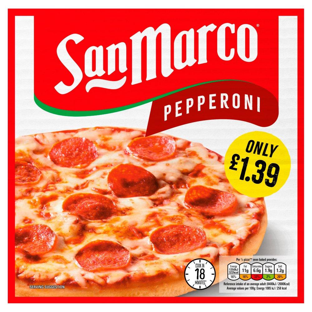 San Marco Pepperoni Pizza 251g