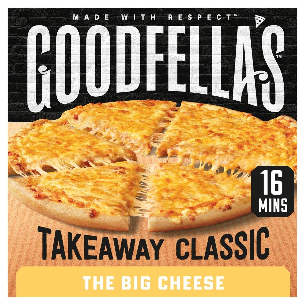 Goodfella's Takeaway The Big Cheese Pizza 426g