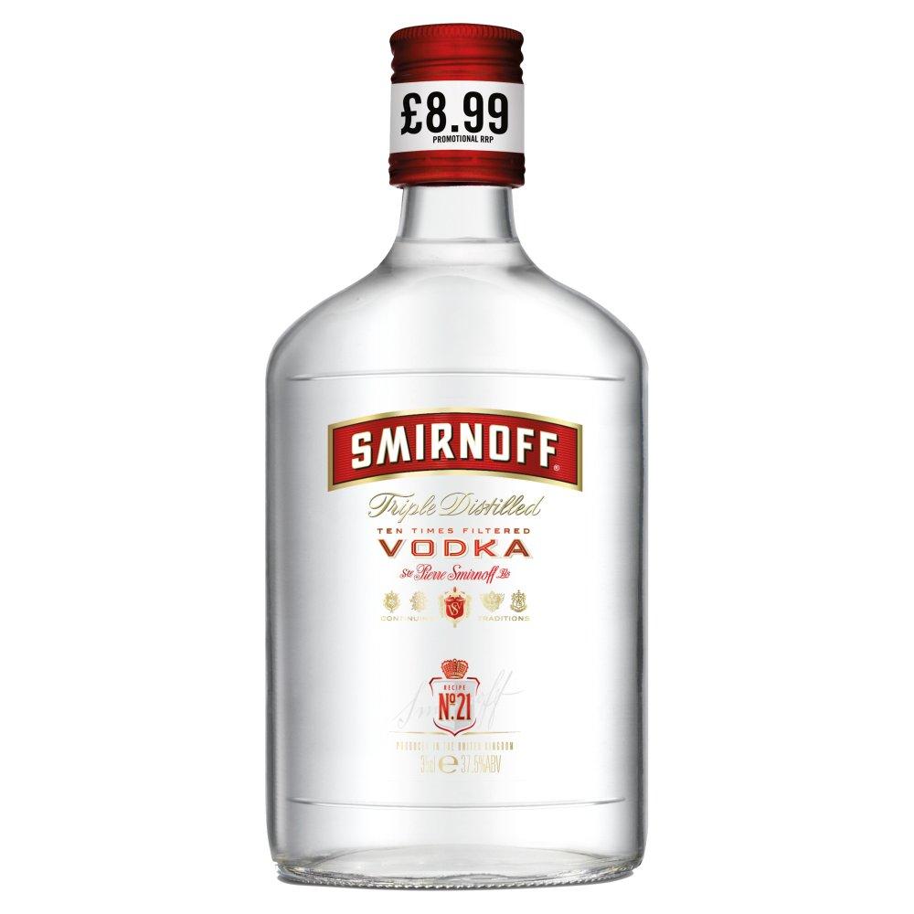 Smirnoff Red Label Vodka 35cl PMP £8.99