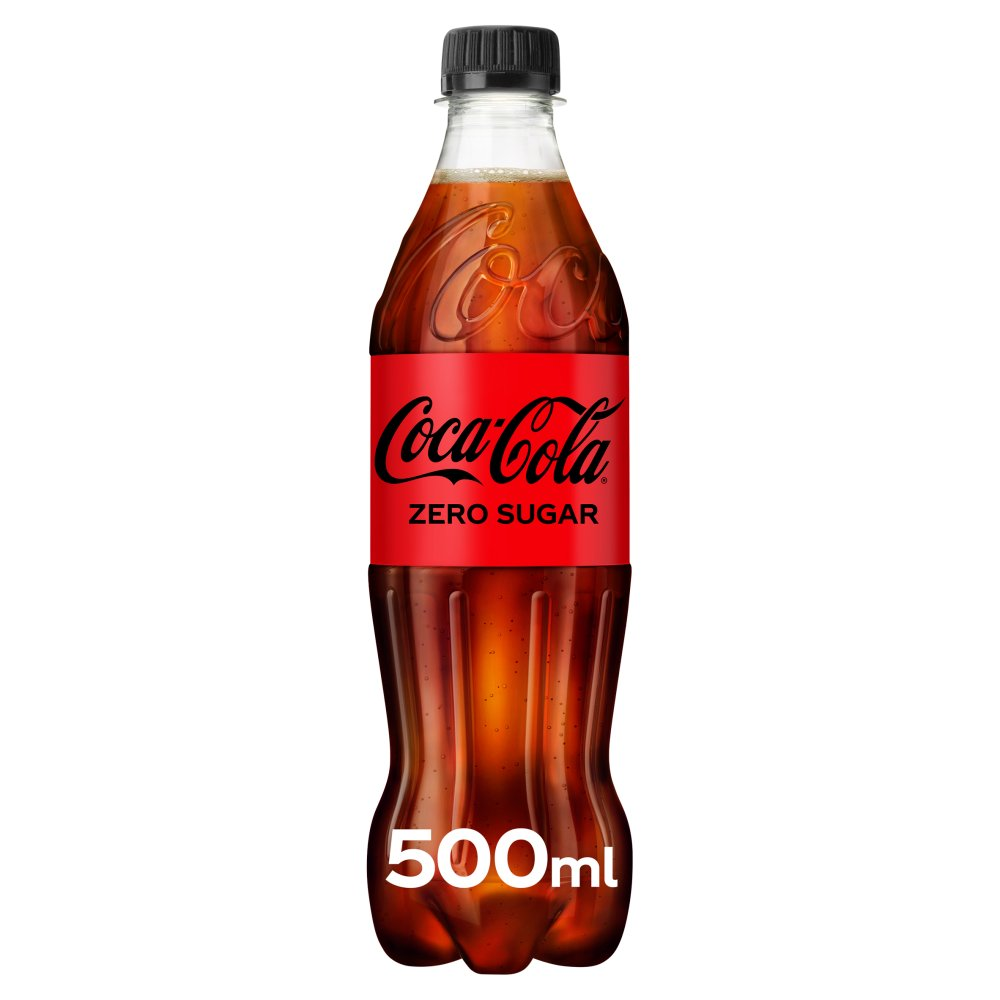coca cola zero sugar 500ml bestway wholesale. Black Bedroom Furniture Sets. Home Design Ideas