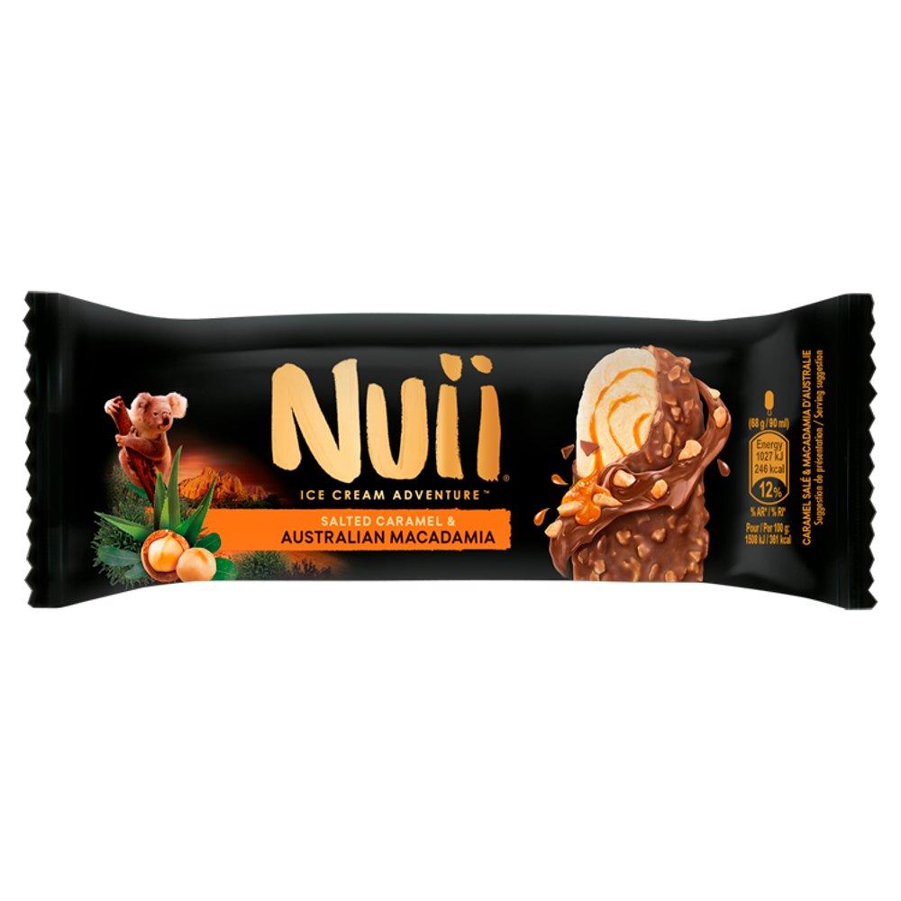 Nuii Salted Caramel and Australian Macadamia