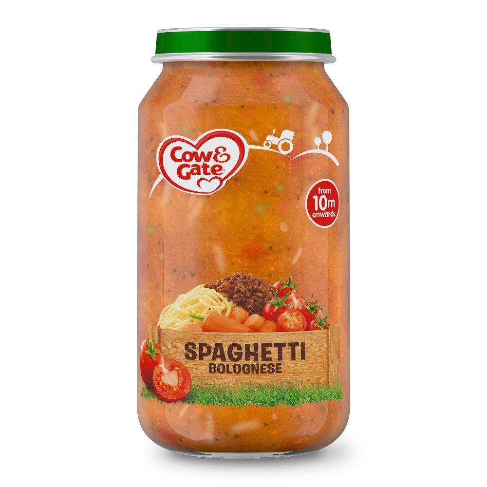 Cow & Gate Spaghetti Bolognese Jar 250g