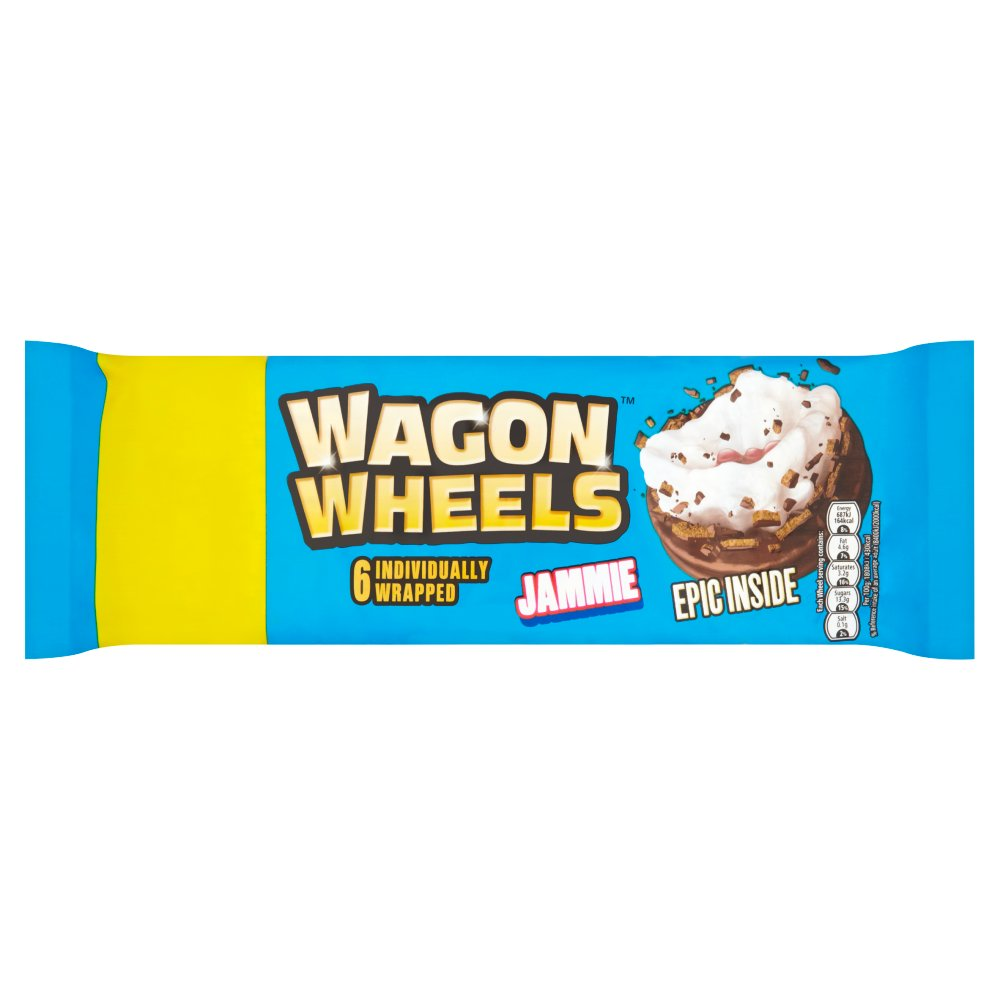 Wagon Wheels Jammie £1.00
