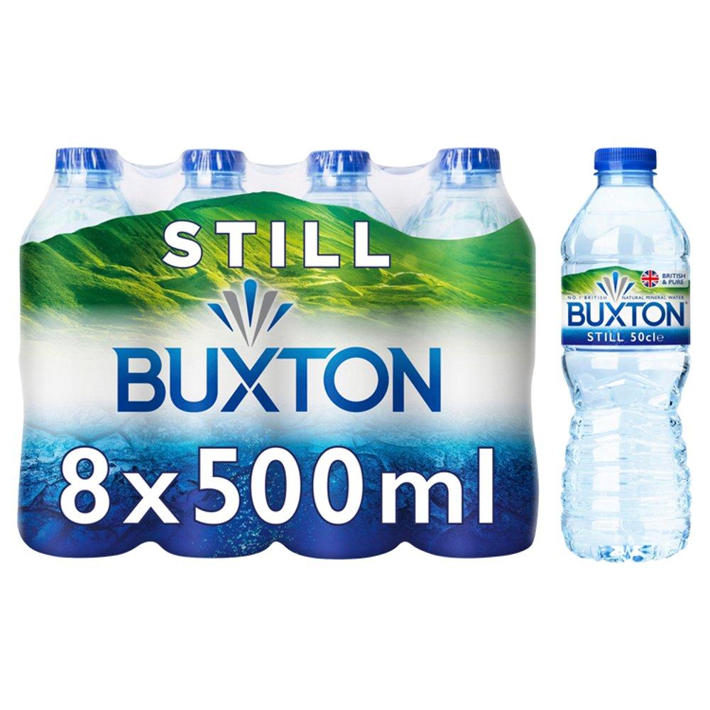 Buxton Still Natural Mineral Water 8x500ml