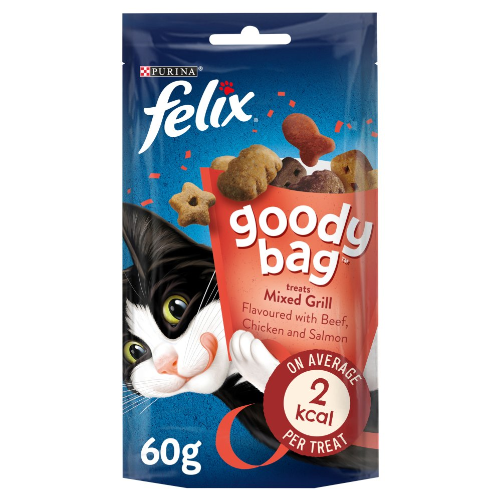 Felix Goody Bag Cat Treats Mixed Grill 60g