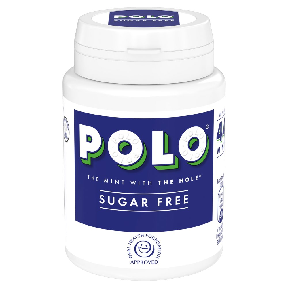 Polo Sugar Free Mint Pot 65g