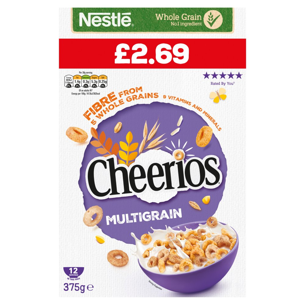Cheerios Multigrain 375g