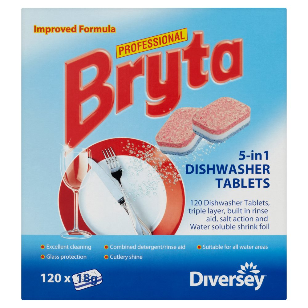 Bryta 5In1 Dish Tablets