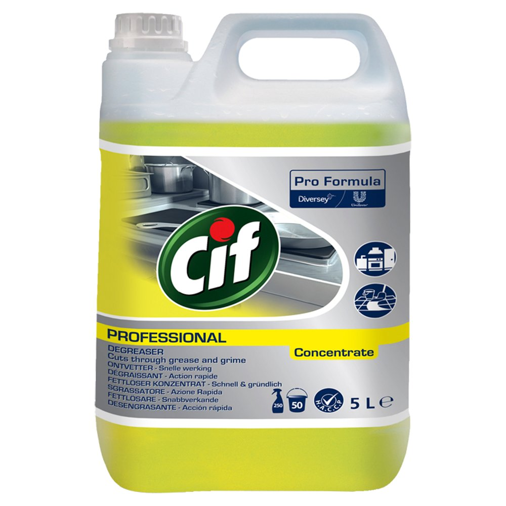 Cif Pro Formula Professional Degreaser Concentrate 5L