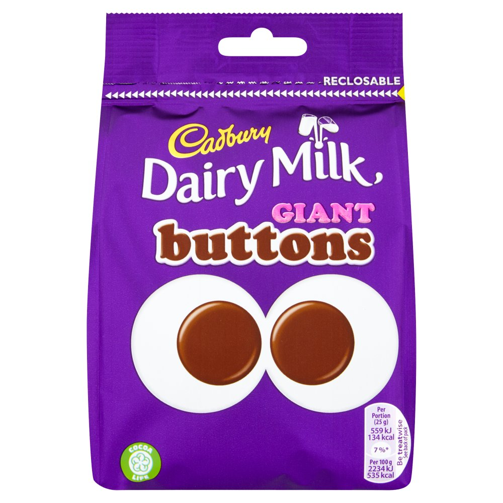 Cadbury Dairy Milk Giant Button
