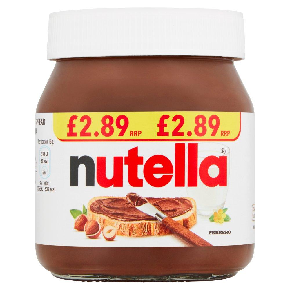 Nutella Hazelnut Chocolate Spread PMP Jar 350g
