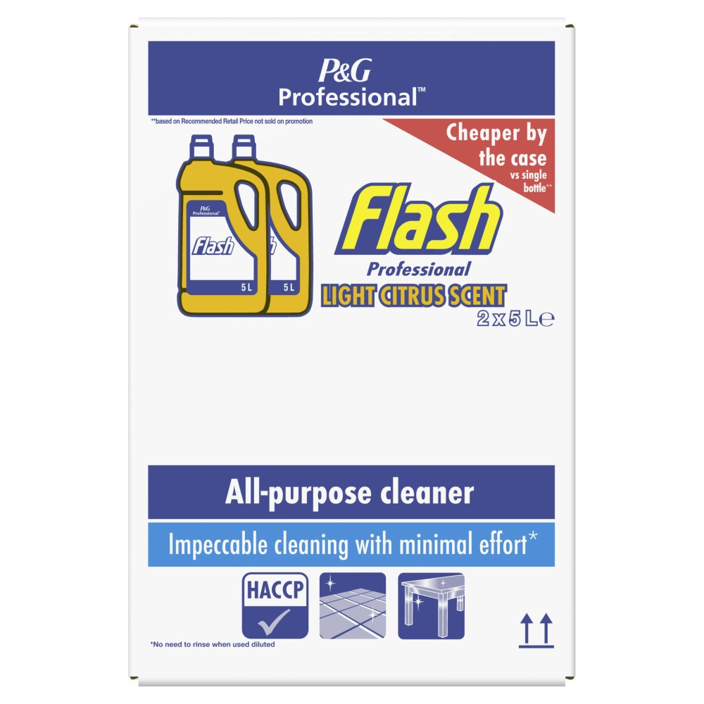 Flash Professional All-Purpose Cleaner Light Citrus 2x5L