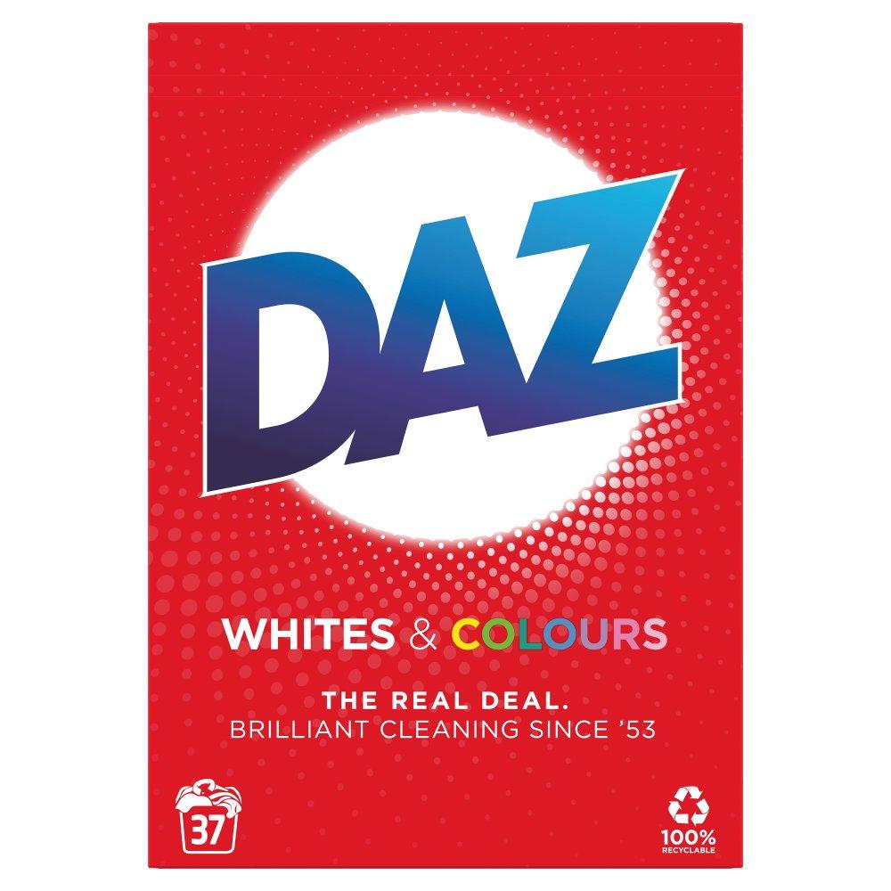 Daz Washing Powder Whites & Colours 2.405kg 37 Washes