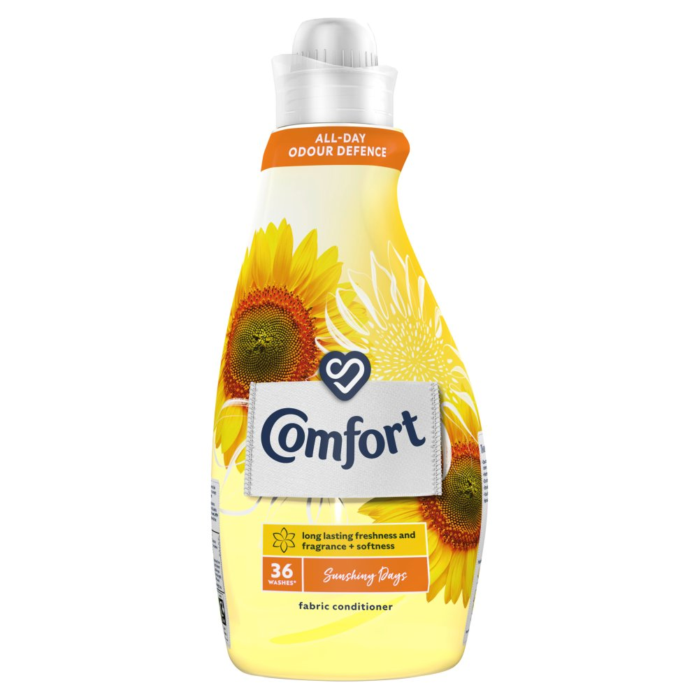 Comfort Sunshiny Days Fabric Conditioner 36 Wash 1.26 l