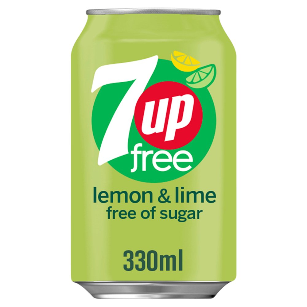 7UP Free 330ml - Bestway Wholesale
