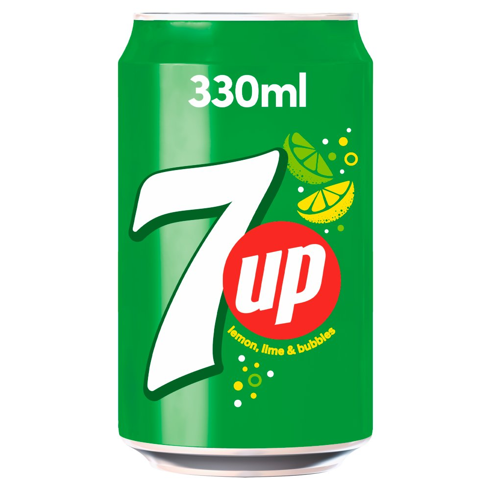 7 Up Cans 330ml