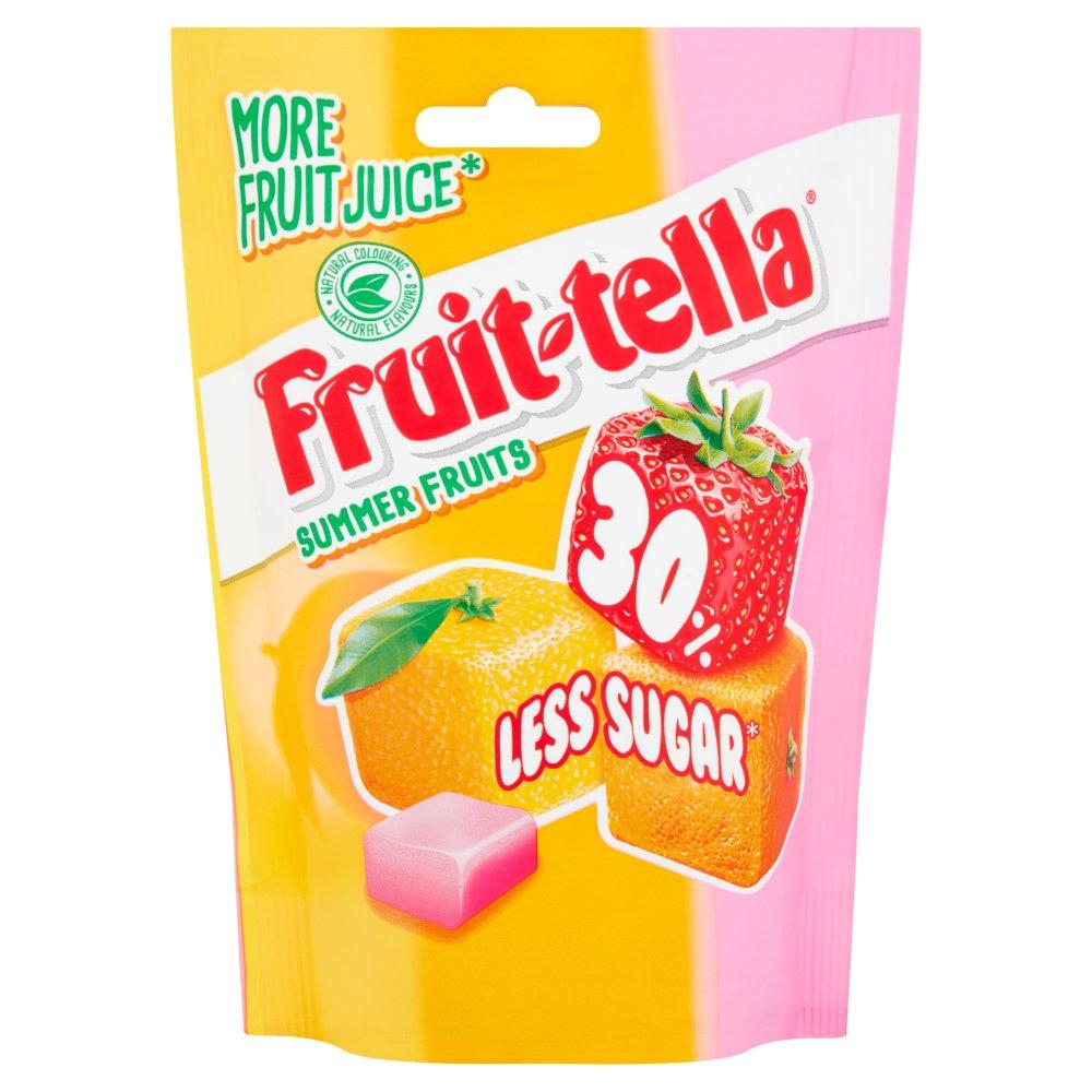Fruittella Summerfruits 30 Less Sugar 120g Bestway