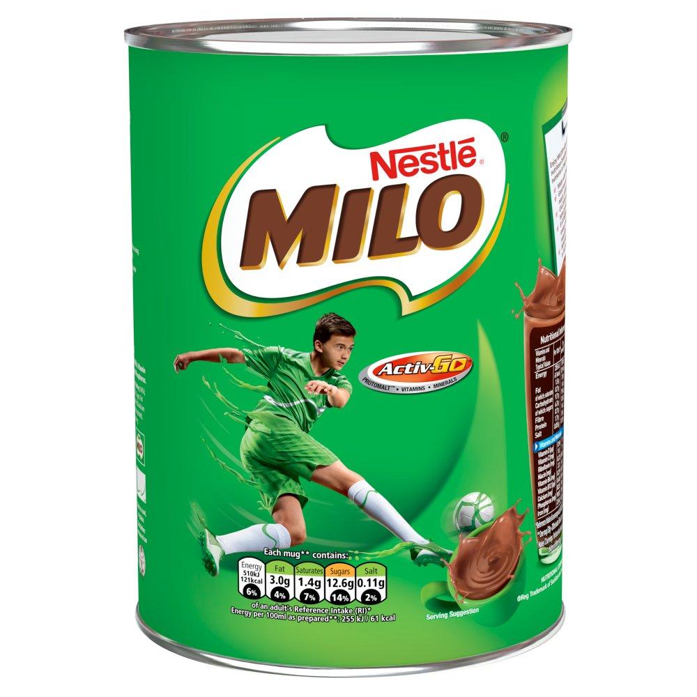 Milo Instant Malt Chocolate Drinking Powder 400g Tin (Asian)