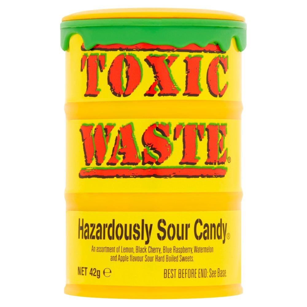 Toxic Waste Hazardously Sour Candy 42g