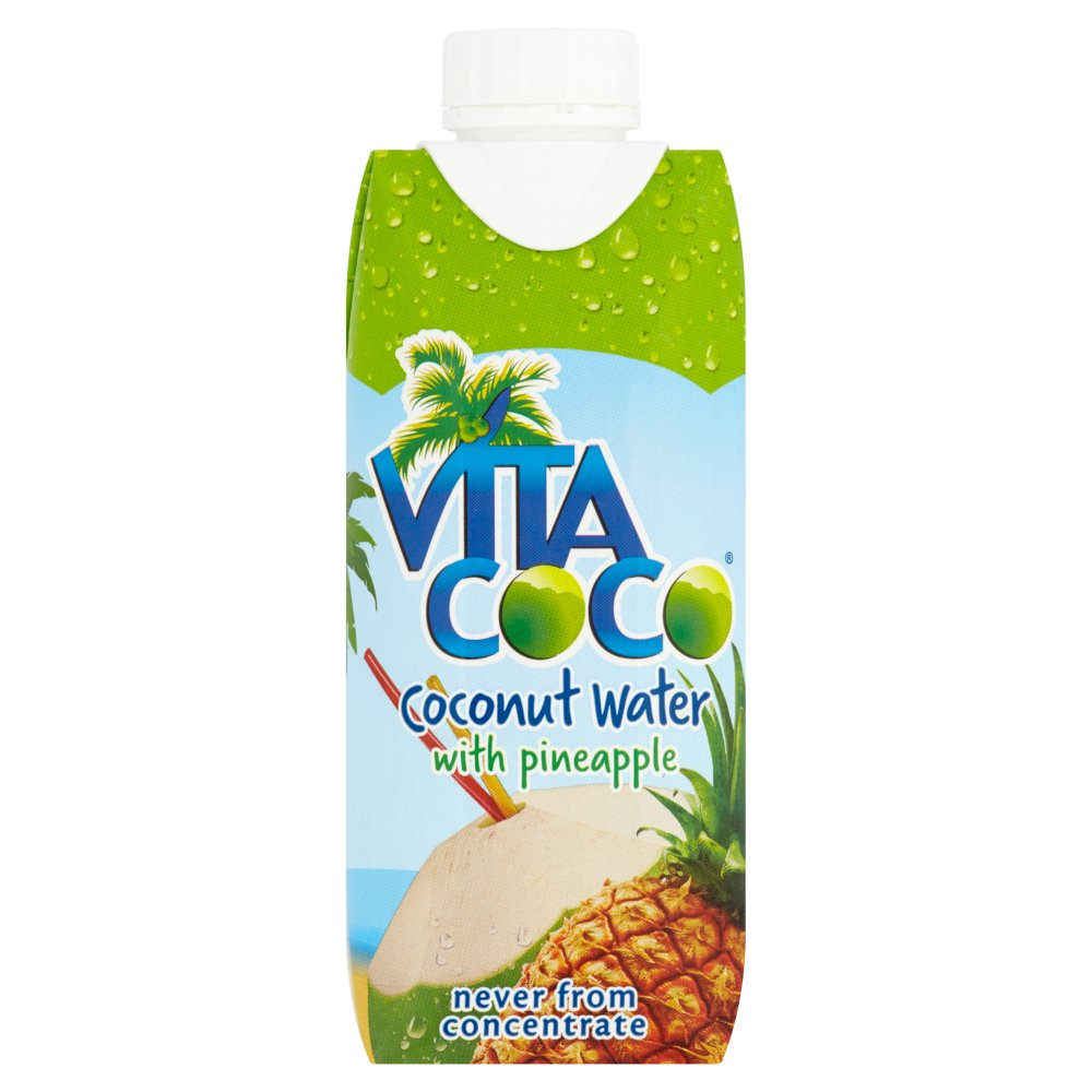 Vita Coco Natural Coconut Water With Pineapple