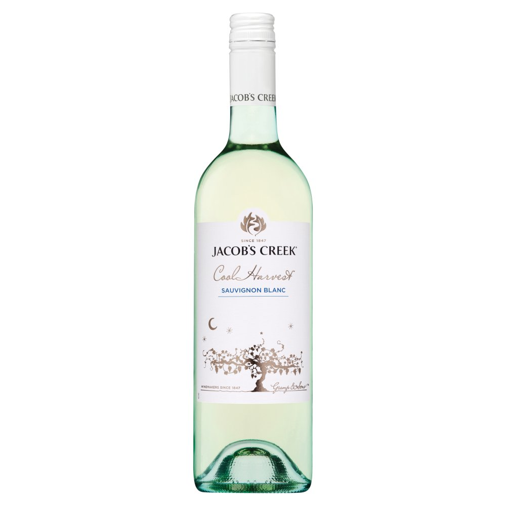 Jacob's Creek Cool Harvest Sauvignon Blanc White Wine 75cl