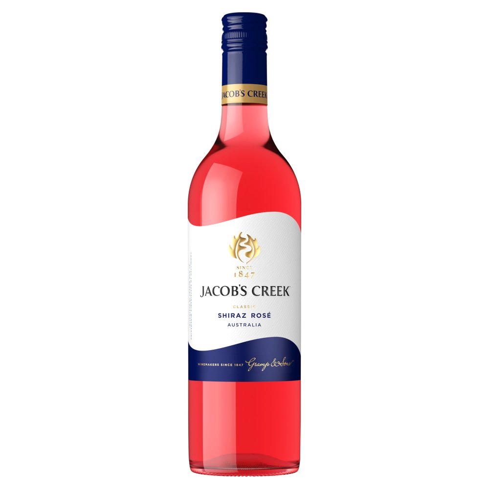 Jacob's Creek Shiraz Rosé Wine 75cl