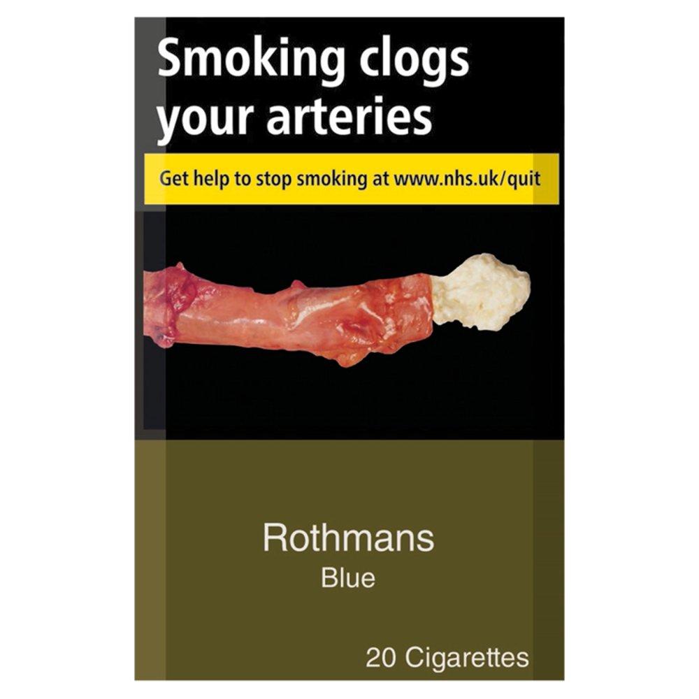 Rothmans Blue 20 Cigarettes