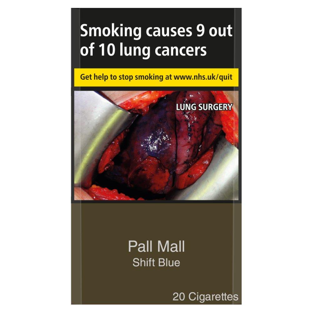 Pall Mall Shift Blue 20 Cigarettes