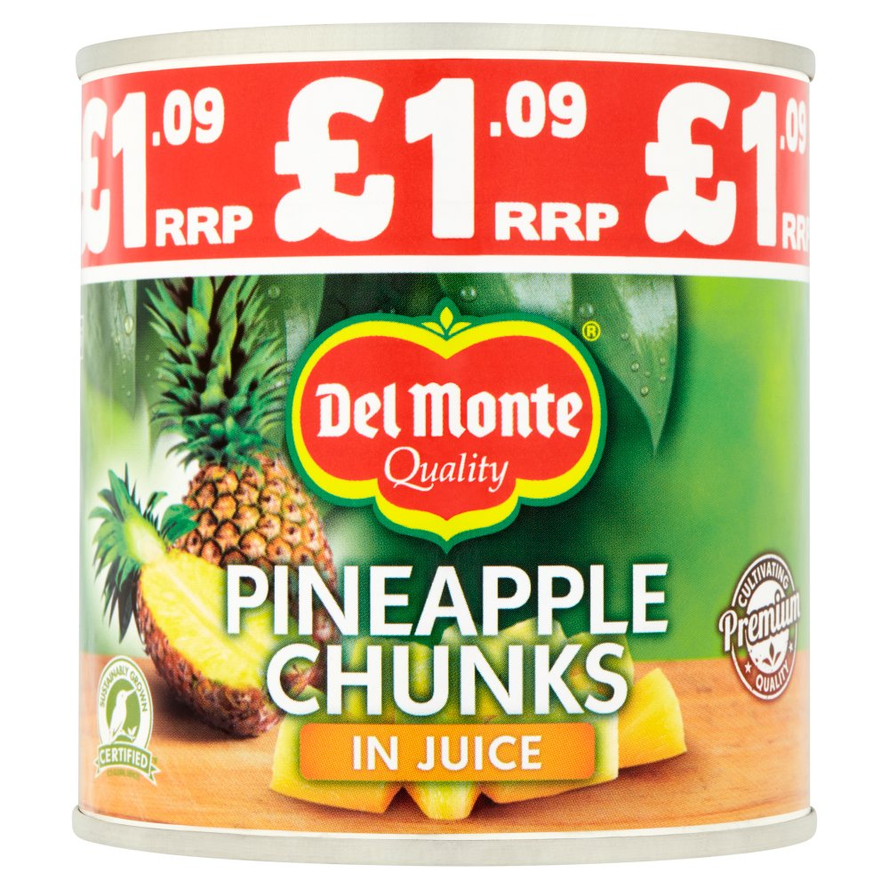 Del Monte Pineapple Chunks in Juice 435g