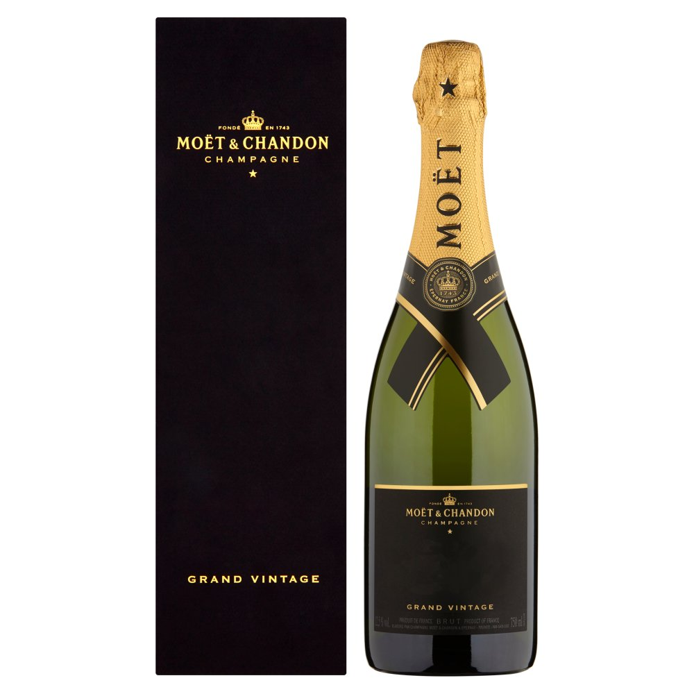Moët & Chandon Grand Vintage Brut 75cl Champagne