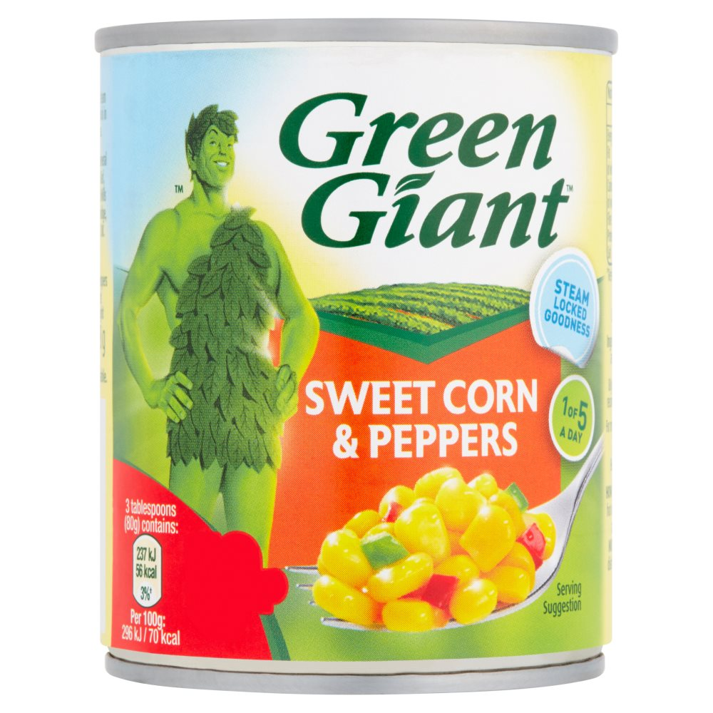 Green Giant Original With Peppers Nat Sweet PM 79p