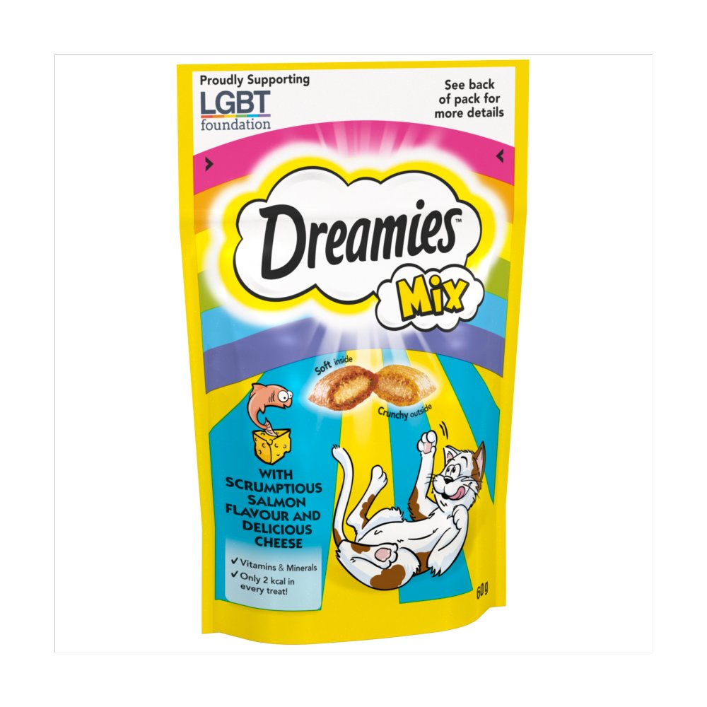 Dreamies Salmon & Cheese Mix