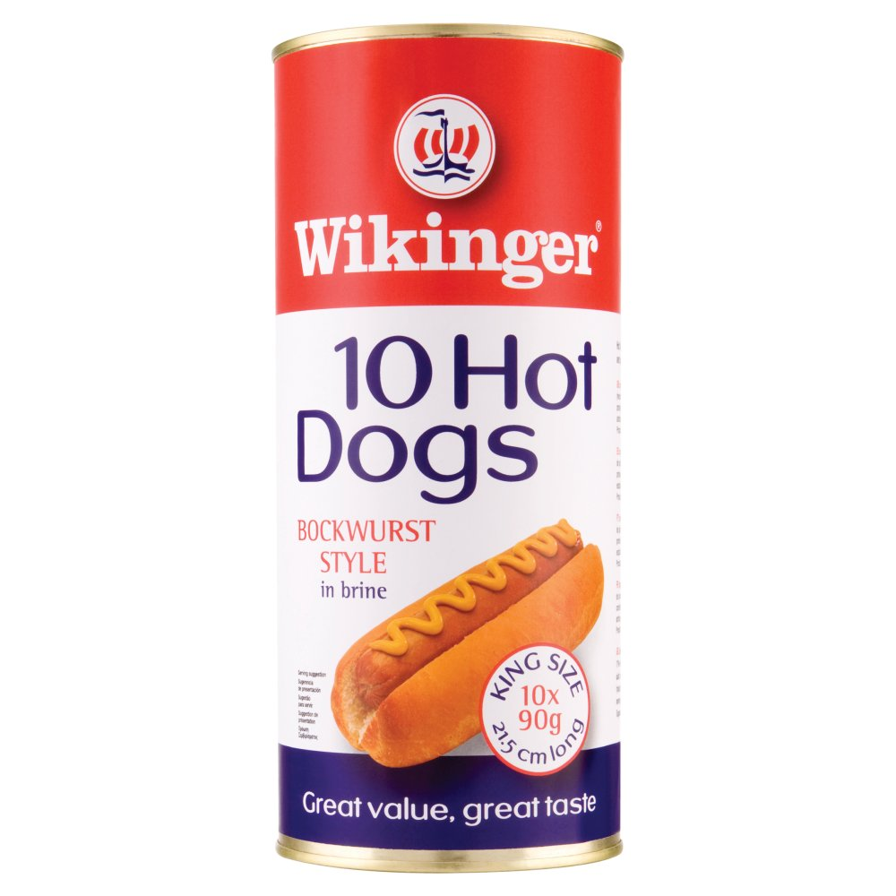 Wikinger Hot Dogs 10X90g