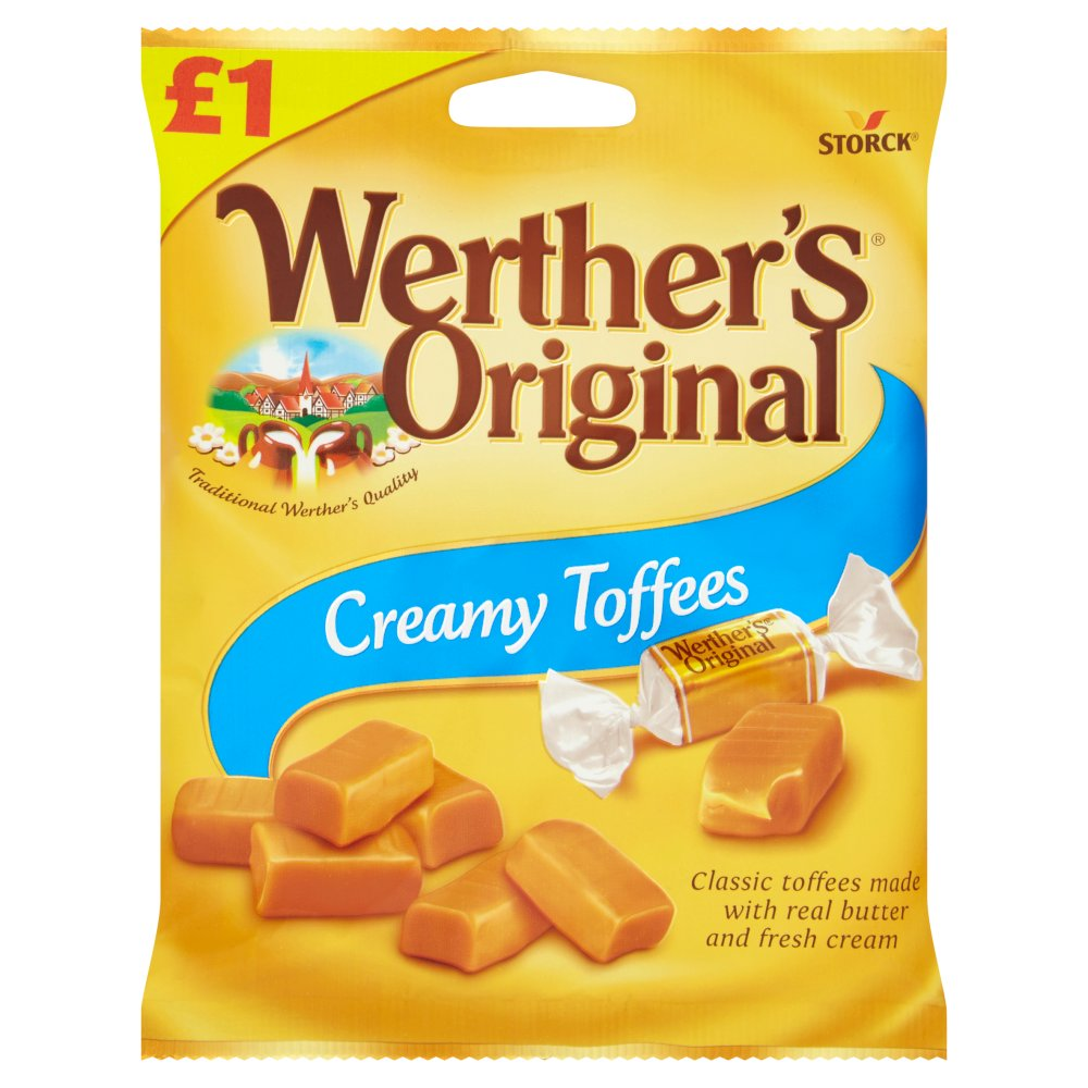 Werthers Original Chewy Toffee PM £1