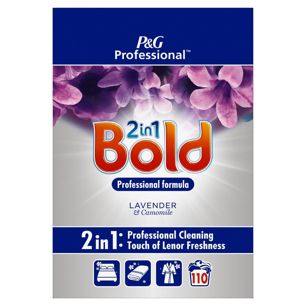 Bold 2in1 Professional Powder Detergent Lavender & Camomile 7kg 110 Washes