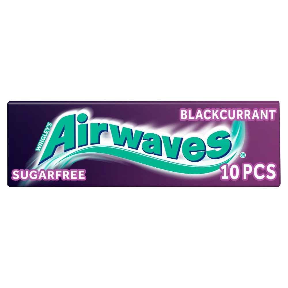 Wrigleys Airwaves Blackcurrant 10pce