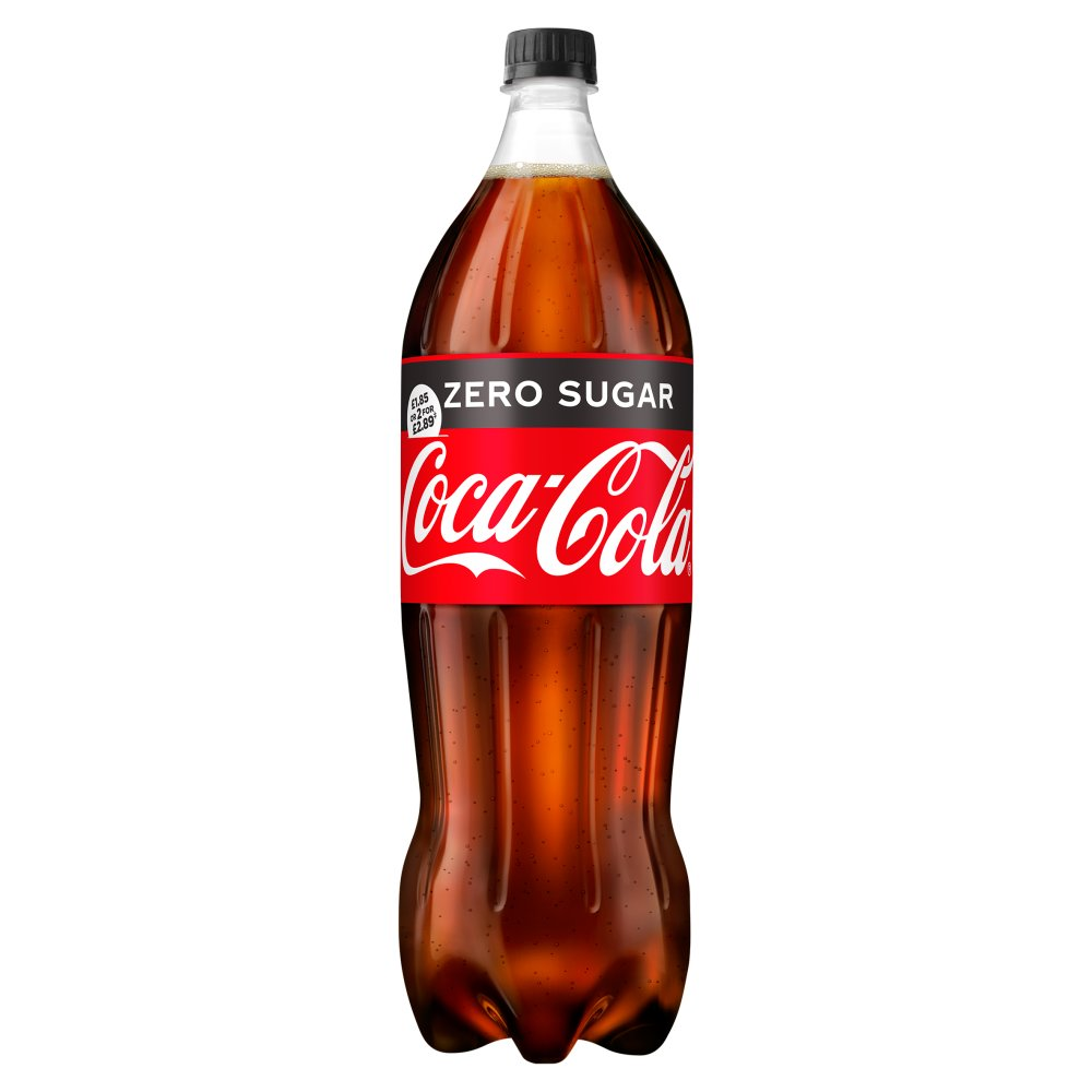 Coca-Cola Zero Sugar 1.75L PMP £1.85 or 2 for £2.89
