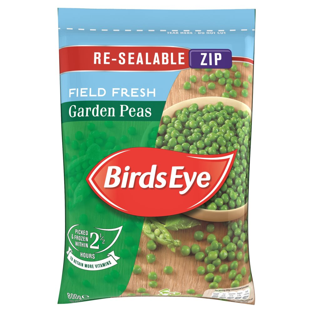 Birds Eye Reseal Garden Peas