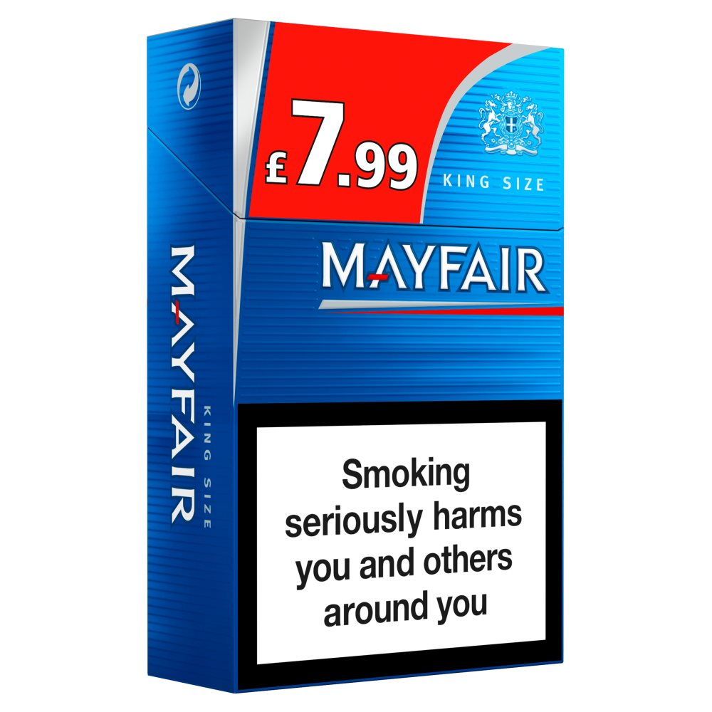 Mayfair King Size £7.99