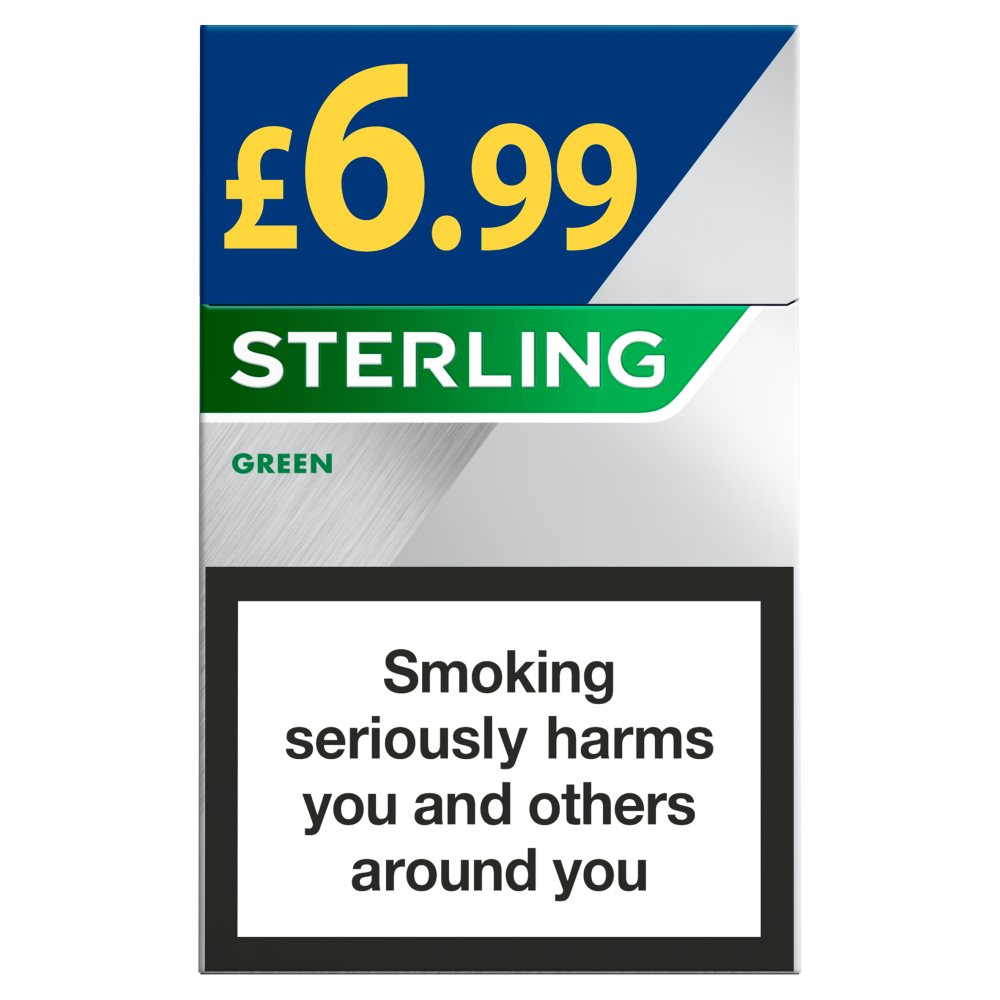 Sterling King Size Green £6.99