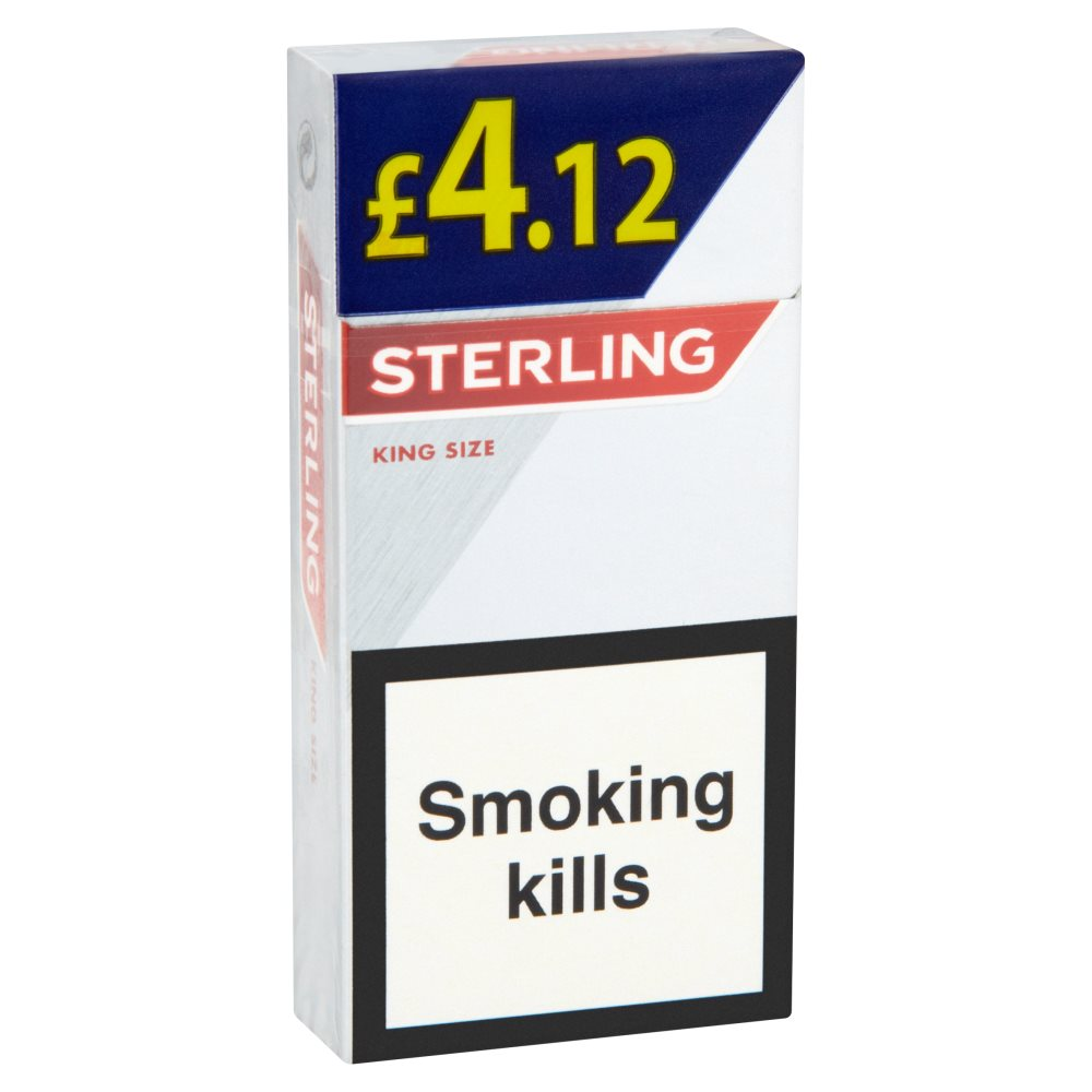 Sterling King Size £4.12