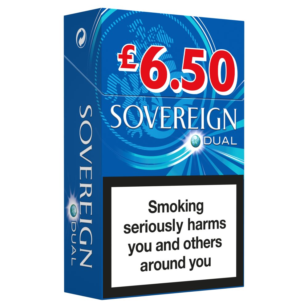 Sovereign King Size Dual £3.99
