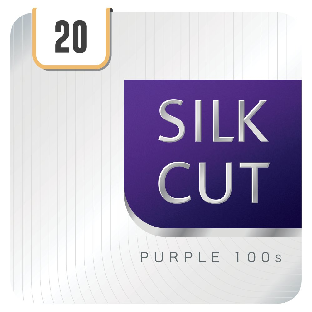 Silk Cut Purple 100s 20 Cigarettes