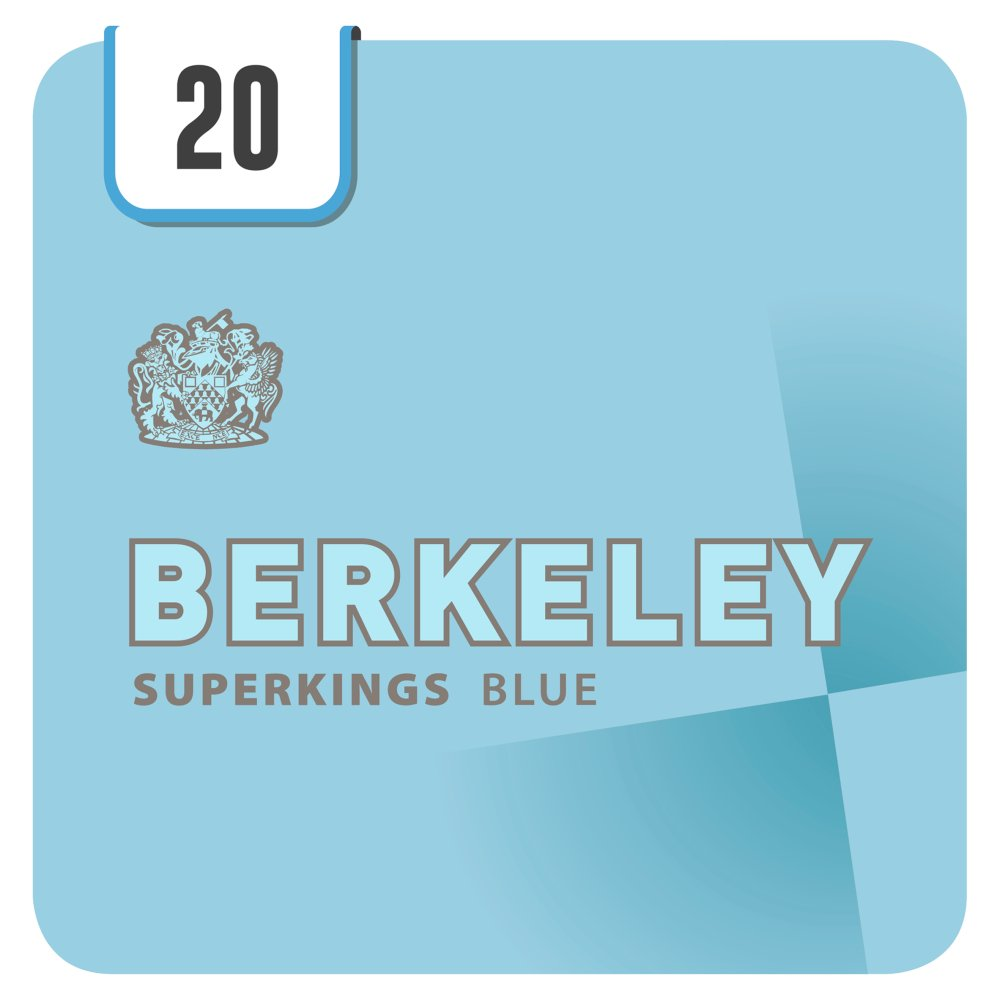 Berkeley Superkings Blue 20 Cigarettes Track & Trace Compliant