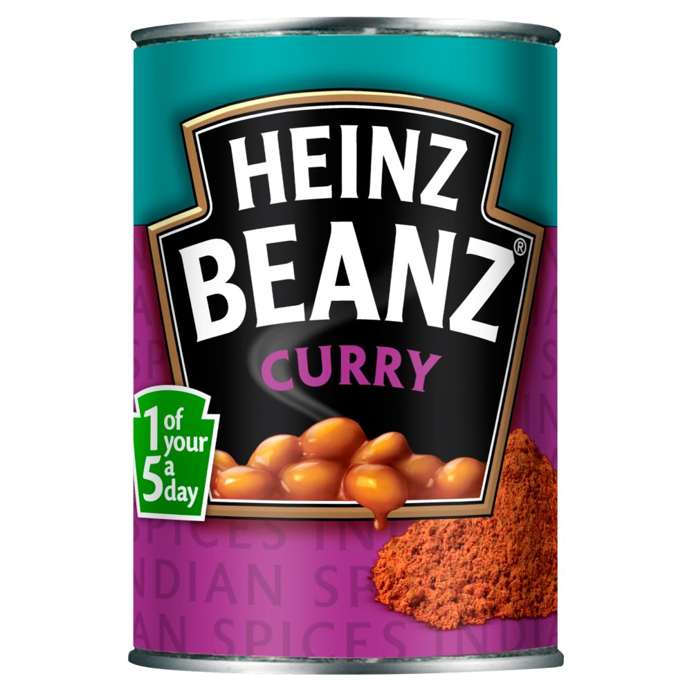 Heinz Flavoured Beans Curry